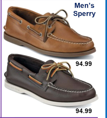 Mens Shoes - Sperry