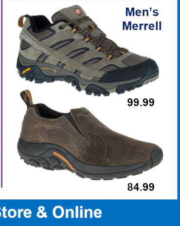 Mens Shoes - Merrell