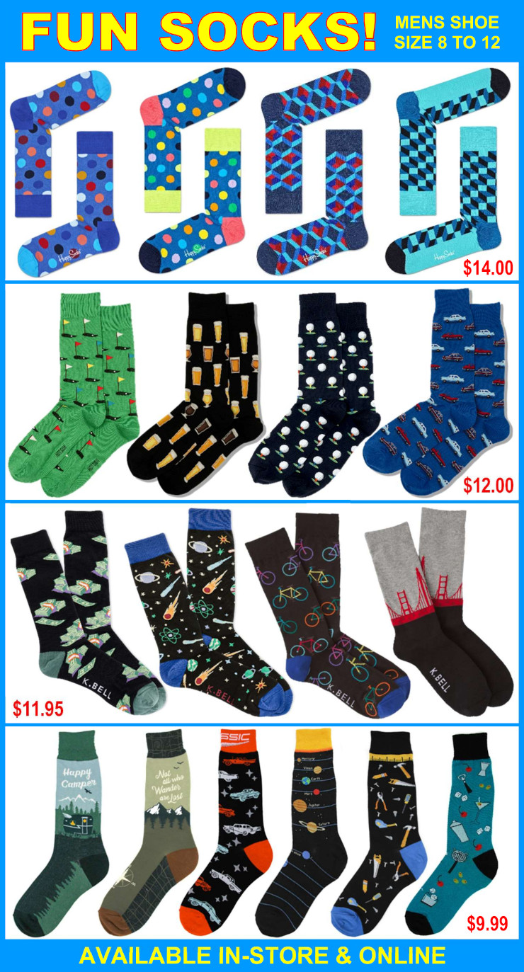 Mens Fun Socks