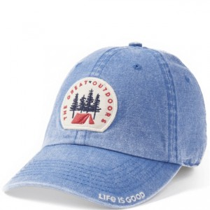 Life is Good Cap - Great Outdoors in Vintage Blue