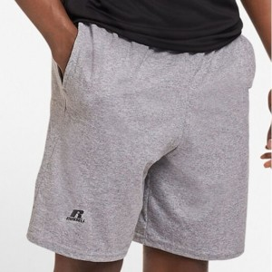 Russell Cotton Jersey Shorts - Oxford Grey Heather