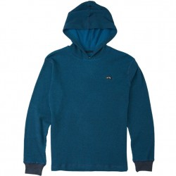 Boys 8 to 20 Billabong Thermal Hooded Pullover - Blue
