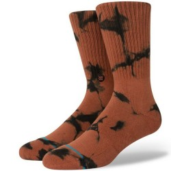 Stance Mid-Cushion Crew Sock - Brown