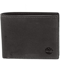 Timberland Passcase Leather Wallet - Black