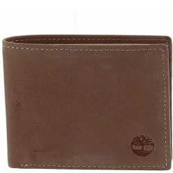 Timberland Passcase Leather Wallet - Brown