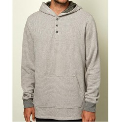 O'Neill Thermal Hooded Pullover - Heather Grey