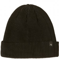Quiksilver Ribbed Beanie - Black