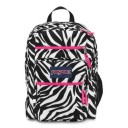 "Jansport ""Big Student"" Backpack - Zebra White Print"