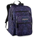 "Jansport ""Big Student"" Backpack - Zebra Purple"
