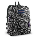 "Jansport ""Superbreak"" Backpack - Zebra Print"