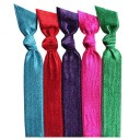 Emi-Jay 5 pack Hair Tie - Jewel