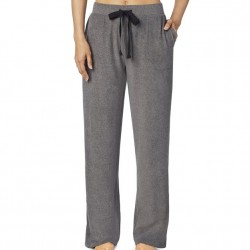 Cuddl Duds Fleecewear with Stretch Lounge Pant - Charcoal