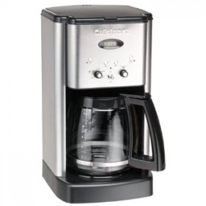 Cuisinart Brew Central 12-Cup Programmable Coffeemaker, black and brushed chrome Style #DCC1200