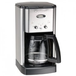 Cuisinart Brew Central™ 12-Cup Programmable Coffeemaker, black and brushed chrome Style #DCC1200