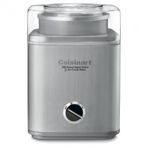Cuisinart Pure Indulgence 2 Qt. Frozen Yogurt-Sorbet & Ice Cream Maker Style #ICE30BC