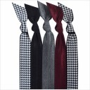 Emi-Jay 5 pack Hair Tie - Houndstooth