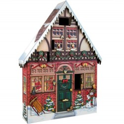 Byers Choice Wooden Advent Calendars Style AC01