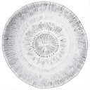 "SIMON PEARCE 15"" Silver Lake Platter #5173"