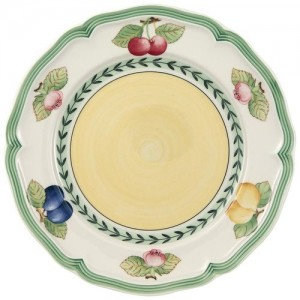 """Villeroy and Boch French Garden Fleurence Salad Plate 8 ¼"""""""