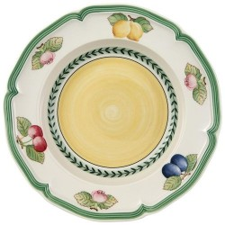 Villeroy and Boch French Garden Fleurence Rim Soup 9""