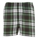 Mens Flannel Boxer #F48CGB - Green