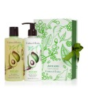 CRABTREE & EVELYN AVOCADO, OLIVE & BASIL PERFECT PAIR