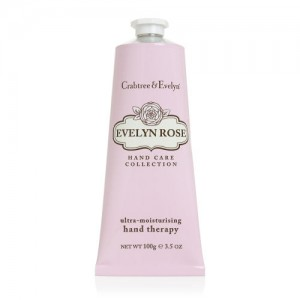 CRABTREE & EVELYN EVELYN ROSE ULTRA-MOISTURIZING HAND THERAPY