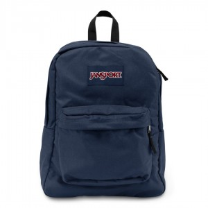 "Jansport ""Superbreak"" Backpack - Navy"