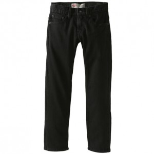 Levi's Boys 511 Slim Fit - Black Stretch