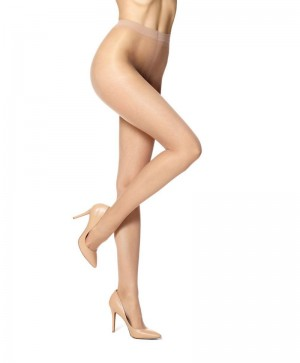 HUE Essential Solutions Clear Control Pantyhose #5972N - Natural