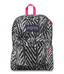 "Jansport ""Superbreak"" Backpack - Grey Tar Wild At Heart"