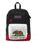 "Jansport ""Superbreak"" Backpack - Red New California Republic"