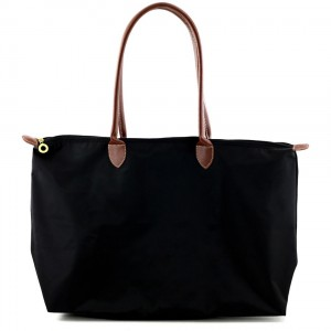 Joseph d'Arezzo Nylon Travel Tote #HD1293 - Black