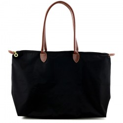 Joseph d'Arezzo Nylon Travel Tote - Black