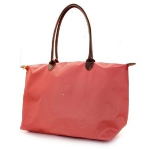 Joseph d'Arezzo Nylon Travel Tote #HD1293 - Coral