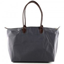 Joseph d'Arezzo Nylon Travel Tote - Grey
