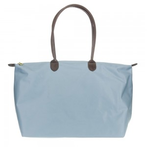 Joseph d'Arezzo Nylon Travel Tote #HD1293 - Light Blue