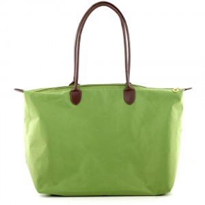 Joseph d'Arezzo Nylon Travel Tote #HD1293 - Lime