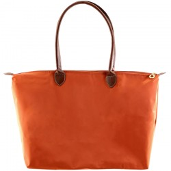 Joseph d'Arezzo Nylon Travel Tote #HD1293 - Orange