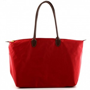 Joseph d'Arezzo Nylon Travel Tote #HD1293 - Red