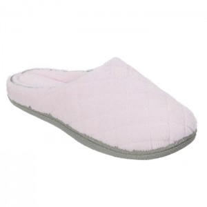 Dearfoams Microfiber Terry Clog - Women's Clogs Style #50228 - Fresh Pink