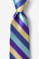 """Novelty Tie """"Know The Ropes"""" - Blue - Style #AL301449"""