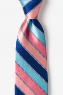 "Novelty Tie ""Know The Ropes"" - Pink - Style #AL301448"