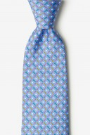 "Novelty Tie ""Golf Balls & Tees"" - Blue - Style #AL300832"