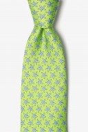 "Novelty Tie ""Starfish"" - Green - Style #AL300957"