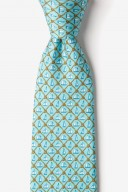 "Novelty Tie ""Knot Enough Sailing"" - Light Blue - Style #AL301099"