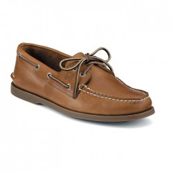 Sperry Men's Authentic Original 2-Eye Boat Shoe - Sahara