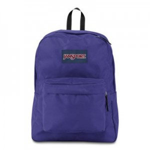 "Jansport ""Superbreak"" Backpack - Purple Plum"