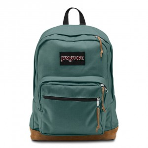 """Jansport """"Right Pack"""" Backpack - Frost Teal"""