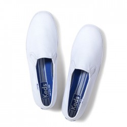 KEDS Champion Canvas Slip-On - White